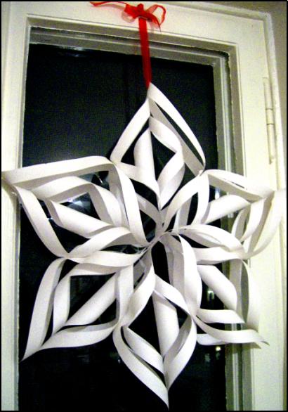 Christmas Decorations Homemade Snowflakes : Homemade decorations liberty